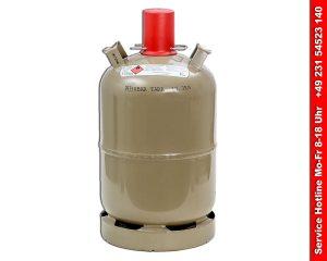 Gasflasche 11kg fuer Gasheizgeblaese